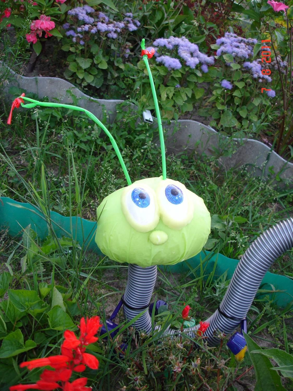 Поделка крот своими руками в сад и огород